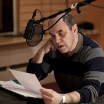 Jako druhý usedl za mikrofon Miroslav Táborský.